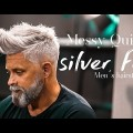 Silver-fox-Messy-Quif-Mens-Hairstyle-Inspiration-2018