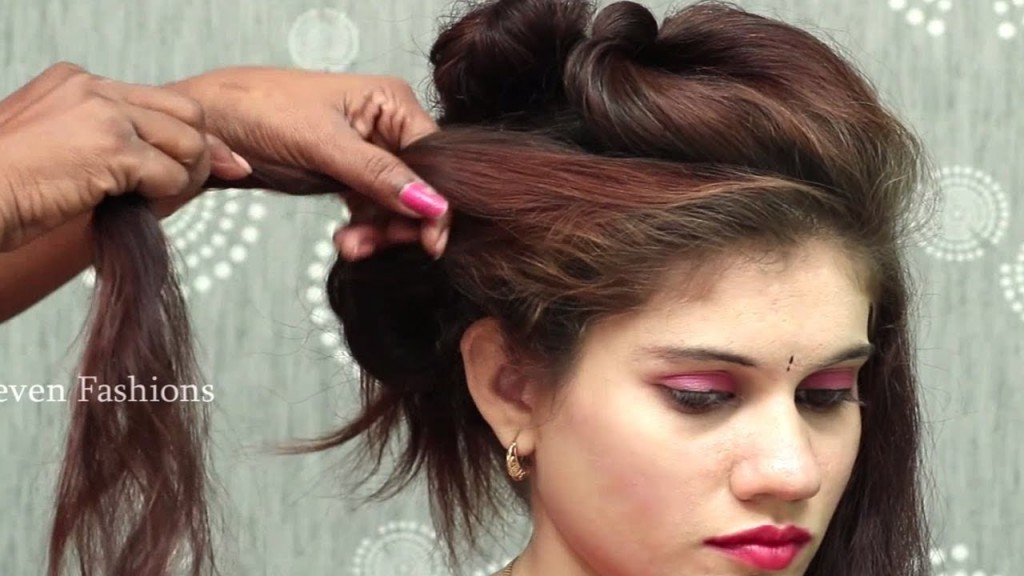 Simple Hairstyle For Long Hair Tutorial Different Party