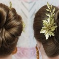 Simple-juda-updo-hairstyle-for-long-hair-Juda-Hairstyle-Raksha-Bandhan-Special-Hairstyle