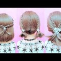 Tie-hairstyle-for-short-hair-amazing-hair-transformations-compilation-by-Huong-Dan-Cho-Ban