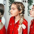 16-QUICK-EASY-HAIRSTYLES-FOR-LONG-PEINADOS-FACILES-Y-RAPIDOS-Y-BONITOS-CON-TRENZAS