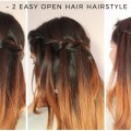 2-Easy-Open-Hair-Hairstyle-Quick-Braided-Hairstyle-For-Medium-To-long-Hair