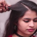 3-Minute-BUBBLE-BUN-Hairstyle-Easy-Hairstyles-for-Medium-Long-Hair-Easy-Bun-Hairstyles