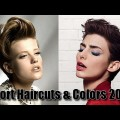 30-Best-Short-haircuts-Hair-colors-for-women-2019