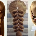30-PEINADOS-FACILES-Y-RAPIDOS-Y-BONITOS-CON-TRENZASCABELLOEasy-Hairstyles-For-Long-Hair4