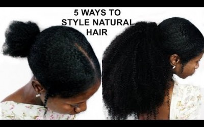 5-QUICK-EASY-hairstyles-HOW-TO-STYLE-NATURAL-HAIR-SHORTMEDIUM-NATURAL-HAIR
