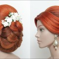 Beautiful-Bridal-Hairstyle-For-Long-Hair.-Wedding-Updo-Tutorial