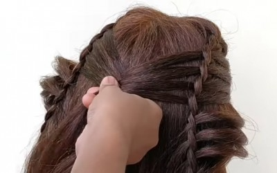 Beautiful-HAIRSTYLE-FOR-LONG-HAIR-Easy-Party-Hairstyle