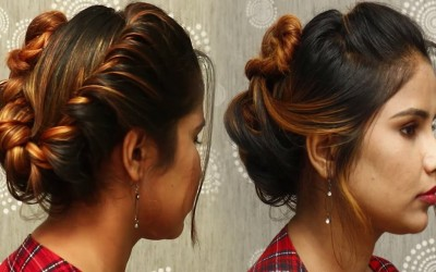 Beautiful-Hairstyles-for-shortMedium-hair-Best-hairstyle-for-girls-Party-hairstyles-2018