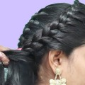 Best-Indian-Hairstyle-for-Saree-hairstyles-for-mediumlong-hair-Braided-hairstyles-for-girls
