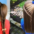 Best-and-Easy-Hair-style-for-medium-long-Hair-Step-by-Step-Tutorials-2018quick-easy-HAIRSTYLE