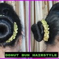 Easy-Donut-Bun-Hairstyles-2018-bridal-hairstyle-hair-hairstyle-Indian-Youtuber-Sangeeta