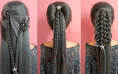 Easy-Hair-Style-for-Long-Hair-2018-Top-30-Amazing-Hairstyles-Tutorials-Compilation