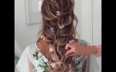 Easy-Hairstyle-04-Simple-for-long-hair-2018-Indian-Bangladeshi-Party-hairstyle-Asrafias-house