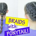Easy-Hairstyle-for-Long-Hair-How-to-Dutch-Braid-the-Hair-Tutorial-for-Beginners