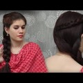 Easy-Simple-Side-Braid-Self-Hairstyle-For-with-bow-for-long-hair-tutorial-for-Everyday-Use.