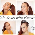 HAIR-TUTORIALS-8-Hairstyles-with-Extensions-on-Short-Hair-Leather-Spice