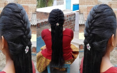 Half-French-Braid-Hairstyle-for-Long-Hair-Hairstyles-for-long-hair-
