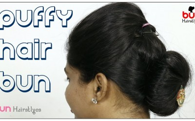 How-to-Make-A-Puffy-Hair-Bun-With-Long-Hair-Lovely-Bun-Hairstyle-For-Long-Hair-Hairstyle
