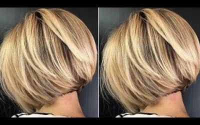 How-to-cut-a-Short-layered-bob-haircuts-Step-by-Step-Short-hairstyles-women