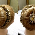 INDIAN-WEDDING-GUEST-HAIRSTYLE-FOR-MEDIUM-TO-LONG-HAIR-PUJYA-TELUGU-VIDEOS