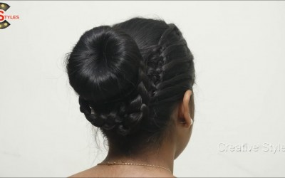 Latest-Party-Latest-Party-Twisted-Bun-Wedding-Hairstyle-for-long-Hair-Awesome-Hairstyles-2018