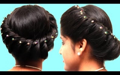 Perfect-BUN-Hairstyle-Everyday-Quick-and-Easy-Puff-hairstyles-for-Long-Hair-Party-Hairstyles