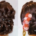 Perfect-Bridal-bun-hairstyle-for-long-hair-easy-wedding-hairstyle-Latest-Hairstyles-of-2018