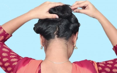 Quick-Easy-Bun-Hairstyles-Easy-Self-Hairstyles-for-long-hair-Hairstyles-for-Girls