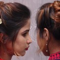 Simple-Easy-Different-bun-hairstyle-for-long-hair-Trendy-Bun-Hairstyle-for-Medium-Hair-hairstyles