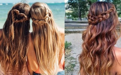 Simple-Everyday-Hairstyle-For-Long-Medium-Hair-1