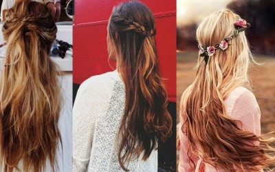 Simple-Everyday-Hairstyle-For-Long-Medium-Hair-3