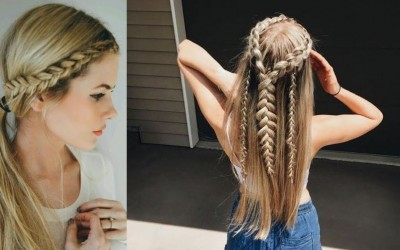 Simple-Everyday-Hairstyle-For-Long-Medium-Hair
