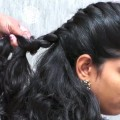 Simple-easy-Hairstyles-for-partyFunction-Everyday-hairstyles-for-Women-Unique-Hairstyle-ideas