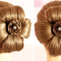 Traditional-Hairstyle-for-Saree-Indian-Festival-Hairstyle-for-Long-Hair-Indian-Festival-Hairstyle