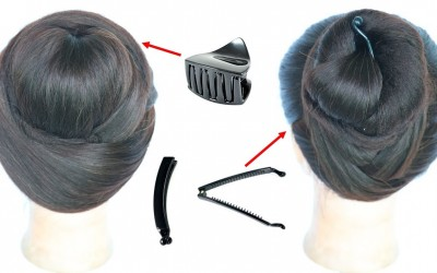 2-cute-easy-hairstyles-with-using-clutcher-cute-hairstyles-hair-style-girl-simple-hairstyle