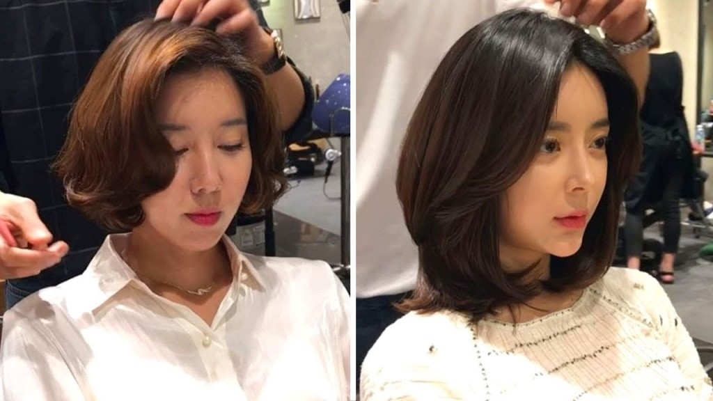 21 Gorgeous Korean Haircut For Women 2018 How To Style Short