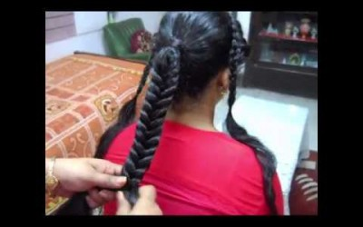 A-Stylish-Braid-hairstyle-for-Long-and-Medium-hair.-Young-girls-Young-lady.