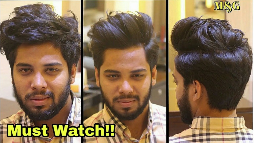Attractive New High Volume Quiff Haircut Mens Hairstyles 2018
