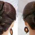 Beautiful-juda-hairstyle-tutorials-Updo-For-Long-Hair-Party-Hairstyles-2018-cute-Hairstyle
