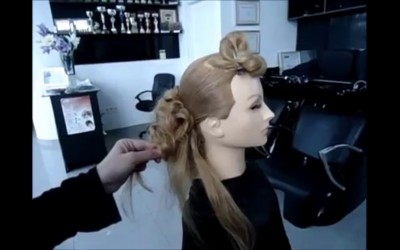 Bridal-hairstyle-long-hair-tutorialpienado-de-boda-facile