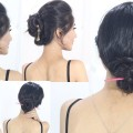 ELEGANT-Bunstick-hairstyles-for-medium-or-long-hair-chinese-bun-juda-style