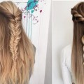 Easy-Hair-Style-for-Long-Hair-Hairstyles-Tutorials-Compilation-4