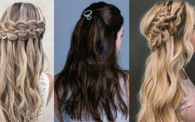 Easy-Hair-Style-for-Long-Hair-TOP-Hairstyles-Tutorials-Compilation-2018-6-1