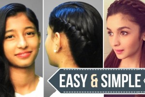 Easy-Hairstyle-for-Lose-Hair-Hairstyles-Inspired-by-Alia-Bhatt-Easy-Simple-Ladies-One