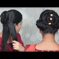 Easy-Twisted-Rolled-Bun-Hairstyles-for-long-hair-By-Self-Best-self-hairstyles-2018.