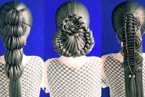 Easy-and-Simple-Hairstyle-Transformations-For-Girl-Magic-Hairstyle-Simple-Hairstyle-For-Holiday