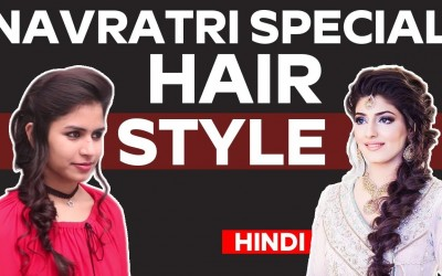 Easy-hairstyle-for-Navratri-Hairstyle-for-Long-Hair