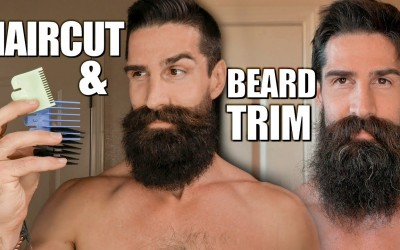 Hairstyles-for-short-hair-and-beard-trim