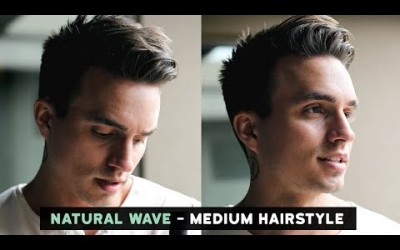 Mens-Natural-Wave-Voluminous-Hairstyle-Current-Hairstyle-Update-Medium-Length